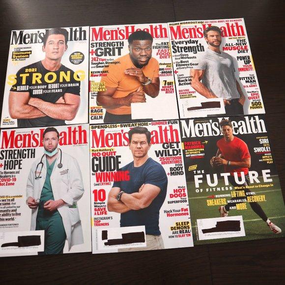 Men's Health Magazine Bundle Patrick Mahomes Hart